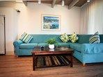 Lovely recently remodeled furnished living room