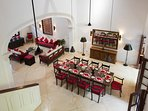 No.39 Galle Fort - Dining area