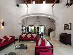 No.39 Galle Fort - Living room