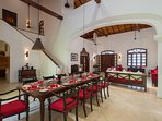 No.39 Galle Fort - Formal dining table
