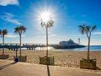 Bournemouth beach (30 min drive)