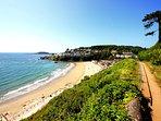 Looe Main Beach - Perfect for sand castles!