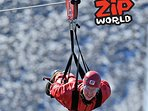 Zip World - 6 mins drive from The Coach House