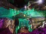 Bounce Below in huge slate caverns. Just 6 mins drive