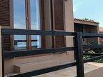 balcone della camera matrimoniale vista mare