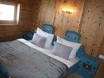 Schlafzimmer 2 in der Hütte im Zillertal