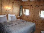 Schlafzimmer 3 in der Hütte im Zillertal