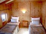 Schlafzimmer 4 in der Hütte im Zillertal