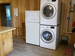 High capacity washer & dryer units - new in 2019.