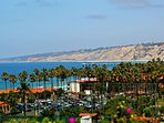 Spectacular views over La Jolla Beach & Tennis Club.