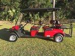 Limo Golf Cart, 6 seats