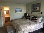 Master Bedroom; King Bed
