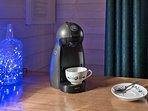 une Dolce Gusto pour que vous puissiez choisir entre cafés, thé, chocolat...