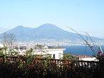 NAPOLI - panorama GOLFO e VESUVIO con monte SOMMA