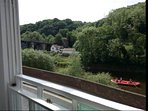 Fantastic view of the Iron Bridge from the large Lounge window