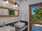 Bathroom Guest House - Pelican Peak Villa - Tortola Virgin Islands (GB)