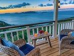 Deck Front Bedroom - Pelican Peak Villa - Tortola Virgin Islands (GB)