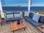 Deck - Pelican Peak Villa - Tortola Virgin Islands (GB)