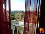 Balcony sea views