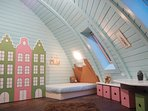 This is bedroom/babyroom with 2 beds