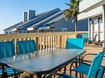 Dine al fresco at the outdoor dining table on the deck!