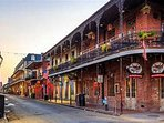 New Orleans is just a easy one hour drive for a day trip.