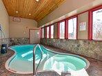 Additional angle of indoor pool