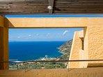 Sea view form the villa