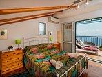 Double bedroom , top floor with sun terrace
