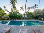 Smaller of the two pools at Aina Nalu Resort.