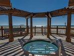 Pelican Beach hot tub