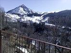 Pico Cerler visto desde la terraza.