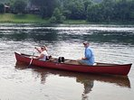 Canoe, kayak & float tube rentals are available through your host.