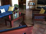 Locally hand-crafted living room furniture