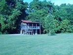 Woodcreek Cabin exterior.