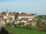 The commune of Trivy, 500 metres/yards down the road