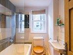 Second bathroom - bath w/shower