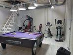 Sala de juegos & Gym