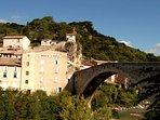 Le pont roman de Nyons, et le moulin à huile... 8 siècles d'histoire...