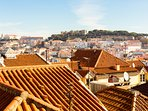 Apartment with an amazing view over the São Jorge Castle and Lisbon Hills