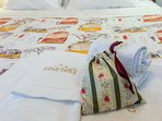 With the quality COURTESY MORNING | Full set of towels for each guest