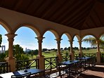 Club house at Villaitana Golf course, less than 5 minutes by car from the villa