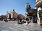 Fotos de la cuidad de Madrid- Plaza Callao y Gran Via. solo a 15 minutos Photos of the city of Madri