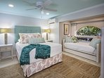 Gorgeous Garden View Guest Bedroom with Queen, Twin Trundle