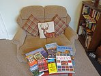 Guide books, plus Kindle. Where to go, where to eat – we lived here – we know, happy to help.