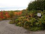 Private 1-km hiking trail