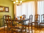 Dining area for 6 people