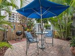 Shady Courtyard/Grilling Area