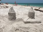It's not the beach without sand castles.
