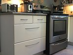 CONVECTION STOVE.